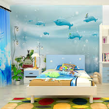 3d Wall Designs Bedroom Wallpaper Design For Room Charming Seamless World Of The Sea