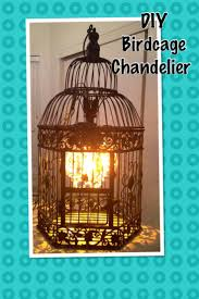 How To Make A Birdcage Chandelier Diy Birdcage Chandelier Aneilve