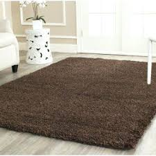 Chocolate Brown Area Rugs Brown Area Rug Safavieh California Shag Collection Sg151 2727