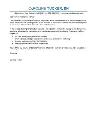 sample cover letter for nursing resume example nurse exa