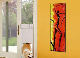 Patio Doors With Built In Pet Door Patio Pet Door Insert For Sliding Doors Temporary Dog Doors