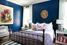 i suwannee a week of design a bold blue bedroom