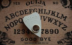 Ouija Coffee Table by The Black Hen Planchette This Haunted Ouija Board Burst Into Flames