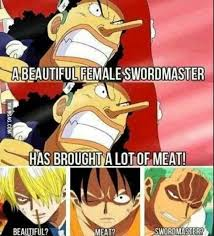 Memes One Piece - one of the epic dialogue from one piece 9gag