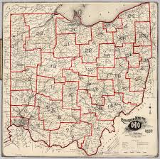 Map Of Ohio State by Railroad Map Of Ohio David Rumsey Historical Map Collection