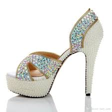 wedding shoes sandals colored wedding shoes sandals 2018 bling rhinestone criss