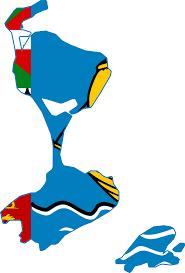 map of st and miquelon file flag map of et miquelon regional png