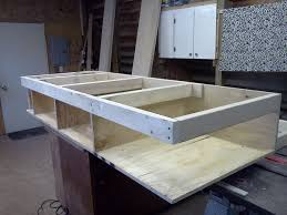 How To Build A Platform Bed With Storage Underneath by Platform Bed With Drawers 8 Steps With Pictures