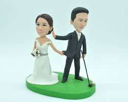 customized cake toppers customized cake topper wedding golf cake topper wedding topper