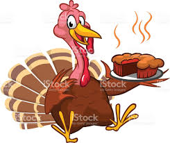 thanksgiving dinner pictures clip art thanksgiving turkey chief cook serving pumpkin pie vector cartoon