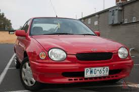 1999 Corolla Hatchback Corolla Conquest 1999 5d Man 1 8l Rwc And Reg To Oct In Pascoe