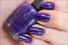 deep purple color opi fun trio from the color is the universal language collection