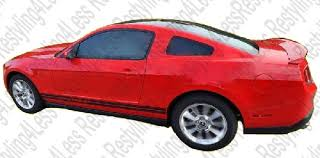 2010 mustang spoiler 2010 2014 ford mustang cobra factory style spoiler fit coupe