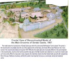 Japanese Castle Floor Plan Sendai Castle