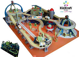 kidkraft train table compatible with thomas children s wooden toys toy play kitchen furniture dollhouse kidkraft