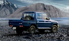 check out the reissued toyota land cruiser 70 pickup truck the