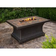 Patio Furniture With Gas Fire Pit by Natural Gas Fire Pit Tables You U0027ll Love Wayfair