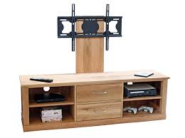 Design For Oak Tv Console Ideas Furniture Get The Most Of Tv Entertainment With The Sturdy And