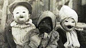 halloween vintage images 15 terrifyingly creepy vintage halloween costumes youtube