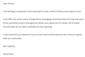 Example Of Cover Letter For A Resume by 6 Cover Letter Examples That Got Something Right
