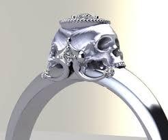 skull engagement rings skull engagement rings