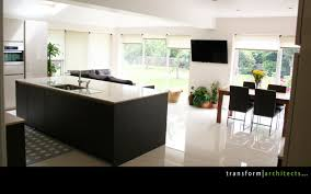 kitchen open plan kitchen dining lounge transform architects