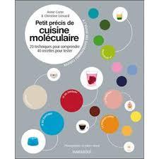 fnac livres cuisine petit precis de cuisine moleculaire broché cazor christine