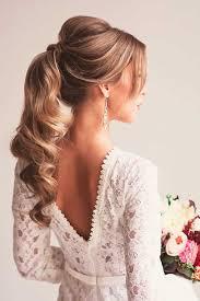 hairstyle for wedding best 25 ponytail wedding hair ideas on wedding