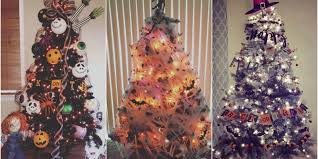 6 halloween christmas tree ideas