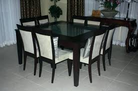 square dining table set for 8 square dining table for 8 round dining table and 8 chairs marvelous