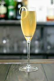 french 75 recipe garnish