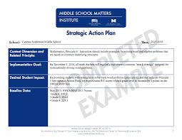 action plan templates pdf and fixable forms from middle