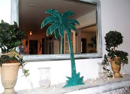 palm tree sign large 31 wood cut out wall swimming pool
