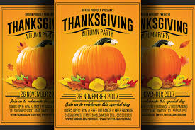 the best fall flyer templates design clubflyers magazine