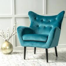 Blue Wingback Chair Design Ideas Blue Wingback Chair Nativeres Org