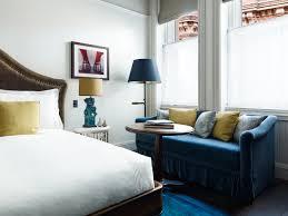 Hotel Bedroom Lighting Design Looking Up The Beekman Hotel By Gerner Kronick Valcarcel