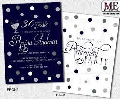 retirement party invitation templates download free u0026 premium