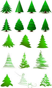 funny christmas tree clipart 61