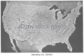 us relief map relief map black and white stock photos images alamy