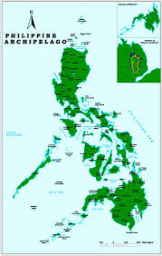 Philippine Map Maps Biodiversity Research Programme