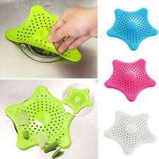 bathroom sink hair catcher buy connectwide starfish hair catcher bath sink strainer catcher