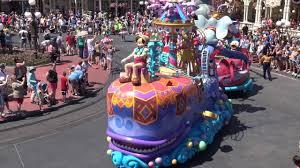2016 june walt disney world disney festival of parade hd