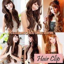hair clip murah jual hair clip murah bahan fiber semi human madamsharma