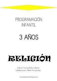 sesiones desarrolladas de religion calaméo programación infantil religión 3 años