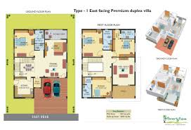 1200 sqft east facing duplex house plans homes zone