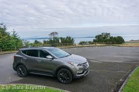 review hyundai santa fe sport 2017 hyundai santa fe sport review the auto reporter