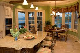 kitchen cool kitchen island table ideas with pendant lamps and
