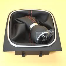 aliexpress com buy new leather red stitch manual gear shift knob