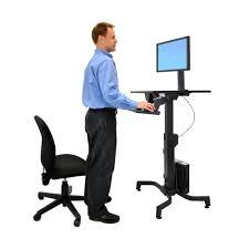 ergotron workfit pd sit stand desk workfits ergonomic standing