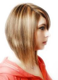 pics of razored thinned hair medium length angled haircut with razored ends